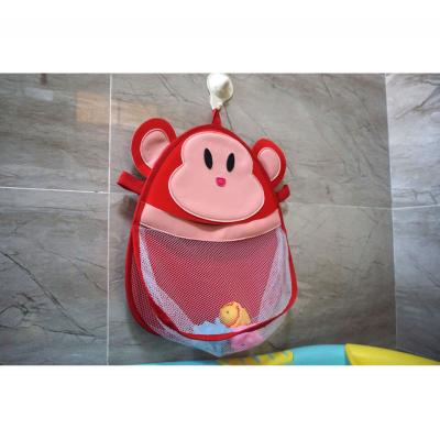 Kids Bathroom Hanging Mesh Bag Baby Bath Toy Organizer